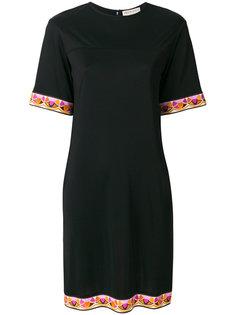 платье-шифт с короткими рукавами Emilio Pucci