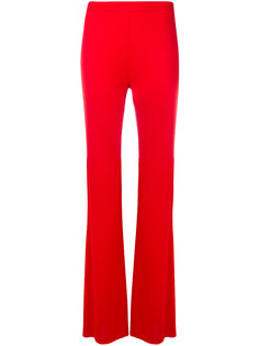 расклешенные брюки с завышенной талией Emilio Pucci