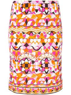 юбка-карандаш с принтом Emilio Pucci