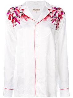 рубашка с пайетками Emilio Pucci