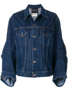 приталенная джинсовая куртка Erika Cavallini