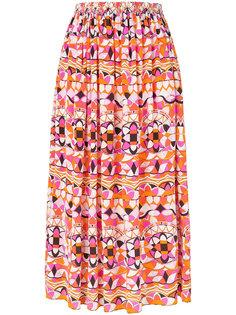 signature-print  full skirt Emilio Pucci