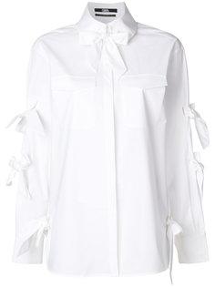 рубашка с бантами Karl Lagerfeld