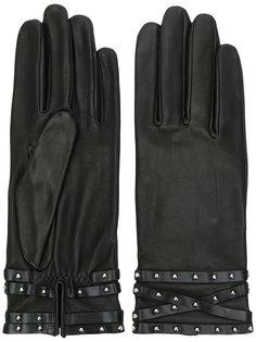 перчатки с заклепками Agnelle