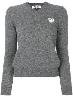свитер с логотипом Comme Des Garçons