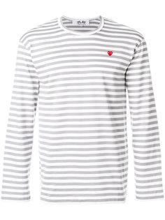 футболка в полоску с логотипом Comme Des Garçons Play