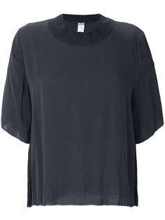 футболка с кашемировой отделкой Kristensen Du Nord