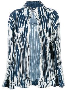 джинсовая куртка с принтом тайдай Faustine Steinmetz
