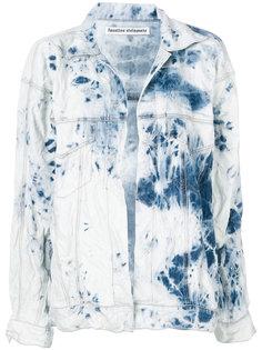 джинсовая куртка без застежки Faustine Steinmetz