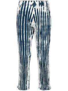 джинсы с принтом тайдай Faustine Steinmetz