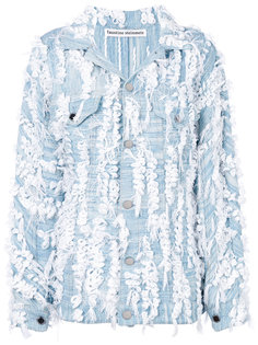 джинсовая куртка с аппликацией  Faustine Steinmetz