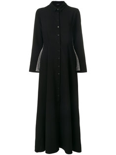длинное платье-рубашка с блестками Elaidi