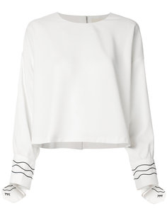 блузка с вышивкой Elaidi