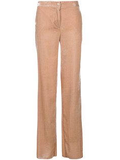 бархатные брюки  Blugirl