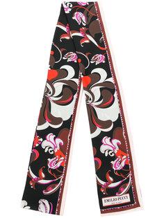 шарф с цветочным узором Emilio Pucci
