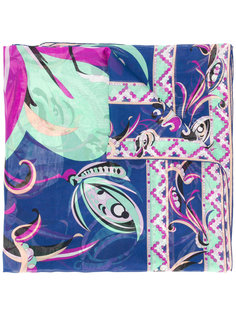 шарф с принтом Emilio Pucci