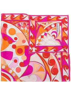 шарф с цветочным принтом Emilio Pucci