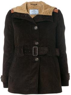 вельветовая куртка Caban Prada