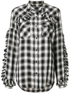 рубашка в клетку Forte Couture