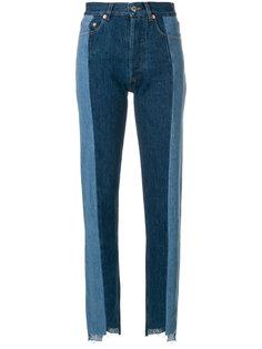 лоскутные джинсы Forte Couture