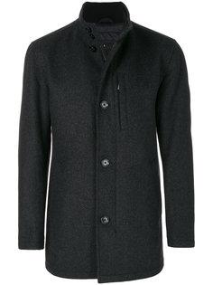 пальто на пуговицах Boss Hugo Boss