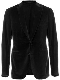 бархатный пиджак Tagliatore