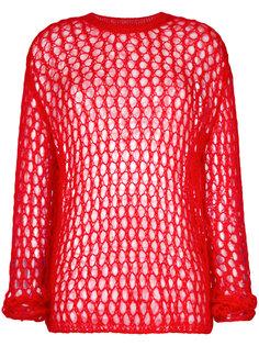 свитер с перфорацией McQ Alexander McQueen