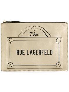 клатч Rue Lagerfeld Karl Lagerfeld