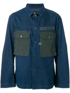 джинсовая рубашка с крупными карманами G-Star Raw