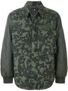 куртка с камуфляжным принтом G-Star Raw