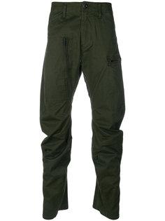 брюки мешковатого кроя с молниями G-Star