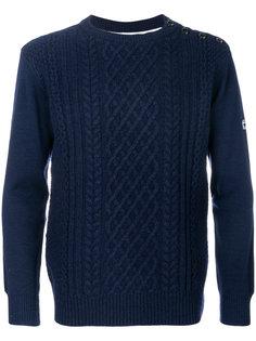 свитер с контрастной спиной G-Star