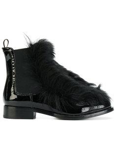 ботинки по щиколотку с меховой отделкой Car Shoe