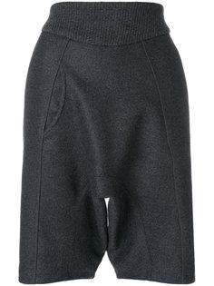 брюки с поясом в рубчик  Paco Rabanne