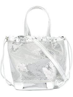 зеркальная сумка-мешок Paco Rabanne