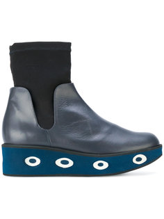 ботинки с носком на платформе Paloma Barceló