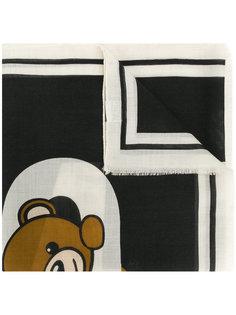 шарф в полоску Moschino