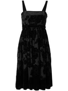 бархатное платье Devore Blugirl