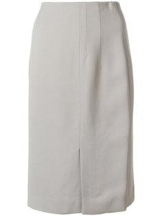 юбка с высокой талией Salvatore Ferragamo