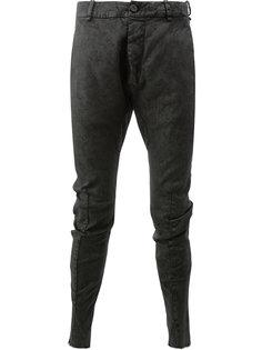 брюки с присборенной отделкой Masnada