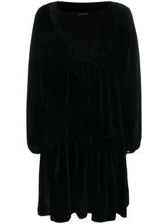 расклешенное платье с запахом Plein Sud