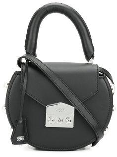 круглая сумка через плечо с отделкой Salar
