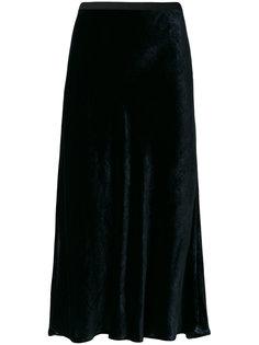 юбка без застежки с эластичным поясом Vince