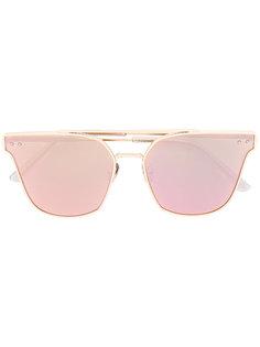 солнцезащитные очки в оправе кошачий глаз Bottega Veneta Eyewear