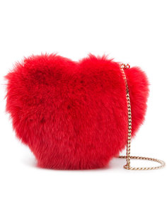 сумка через плечо в форме сердца Les Petits Joueurs