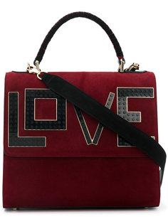 сумка на плечо c аппликацией Love Les Petits Joueurs