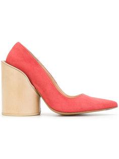 туфли на массивном каблуке Jacquemus