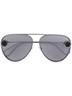 солнцезащитные очки-авиаторы Christopher Kane Eyewear