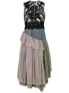 платье с юбкой из тюля Antonio Marras