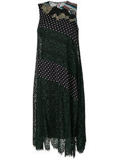 расклешенное платье мини Antonio Marras
